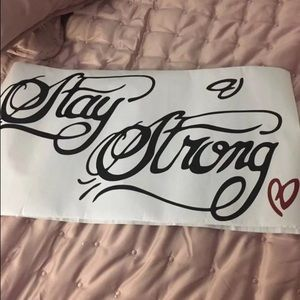 Demi Lovato Stay Strong tattoo wall decal
